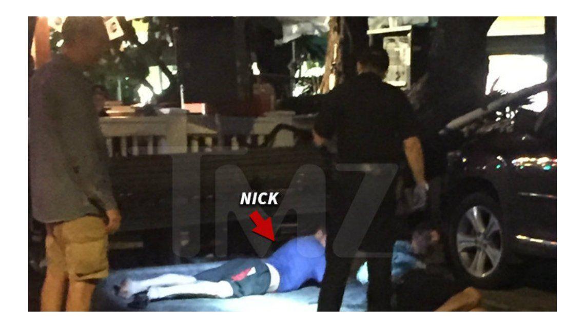 Arrestaron al ex Backstreet Boys Nick Carter tras una noche de excesos