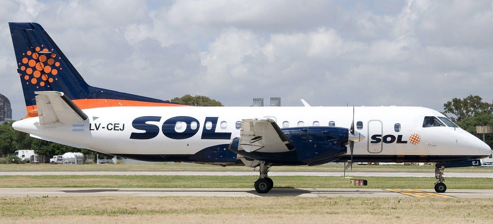 La aerolínea Sol oficializará su cierre este miércoles