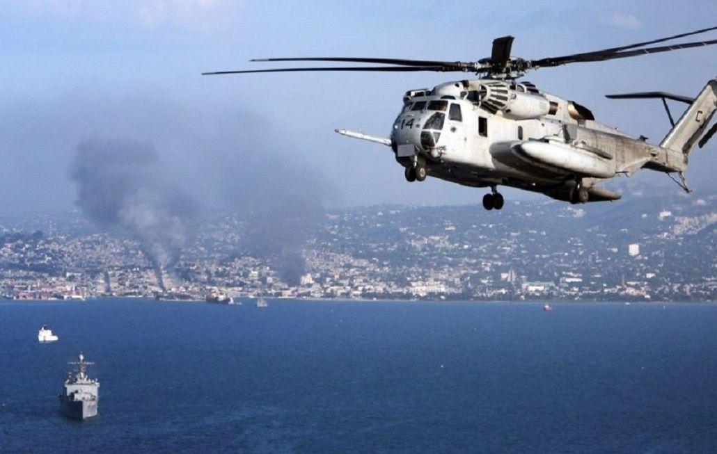 Doce desaparecidos al chocar dos helicópteros de EEUU en Hawái