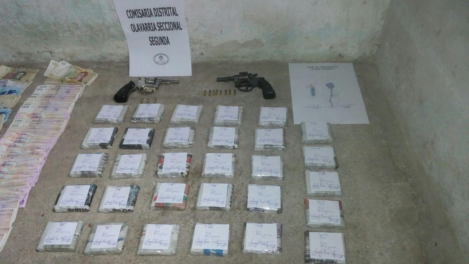 Detienen a una pareja narco que escondía droga en cajas de zapatos