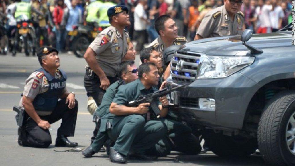 Atentados simultáneos en Yakarta, capital de Indonesia