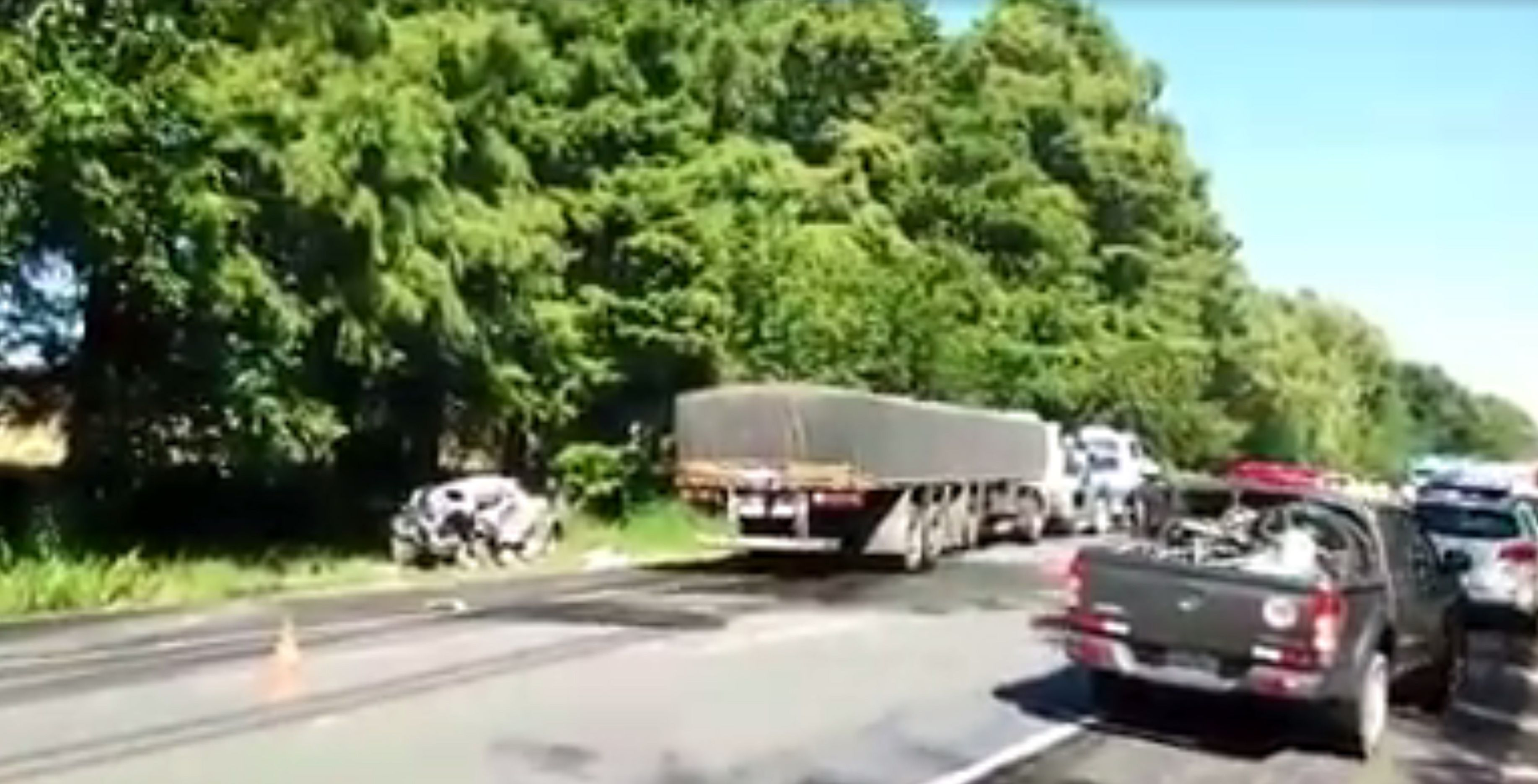 Otro accidente fatal en Uruguay: murió un matrimonio argentino y dos de sus hijas