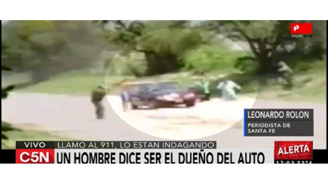 No hubo doble captura: apareció el dueño del auto del video