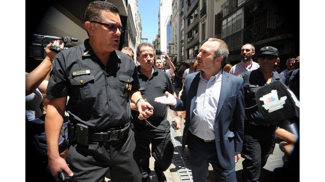 Martín Sabbatella intentó una vez más entrar a la Afsca, pero no lo dejaron
