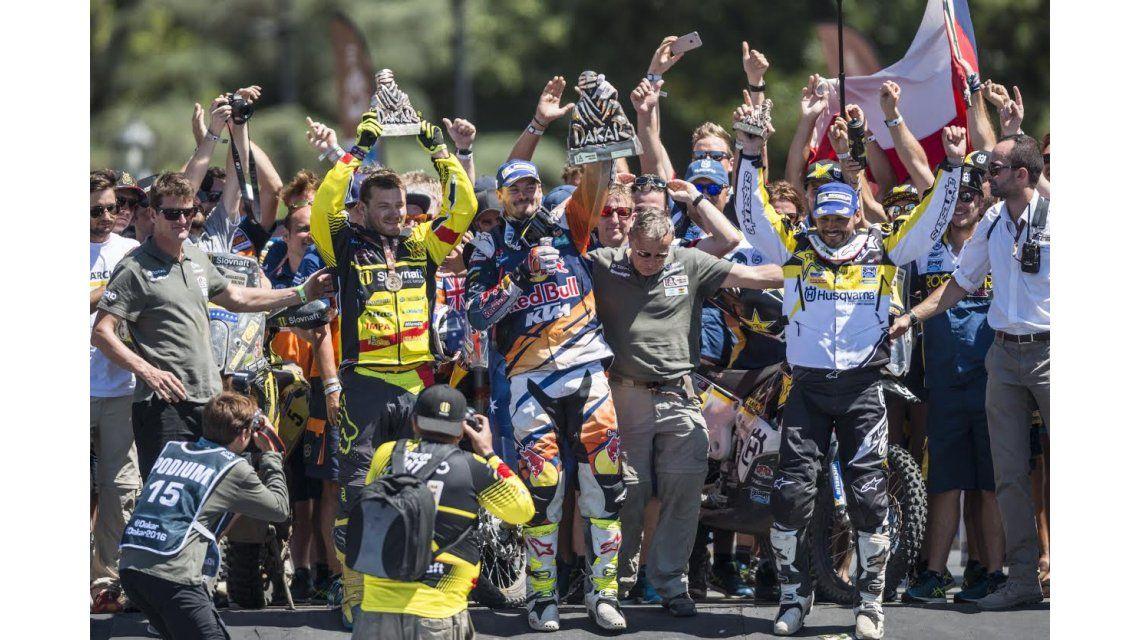 El final del Dakar 2016, en imágenes