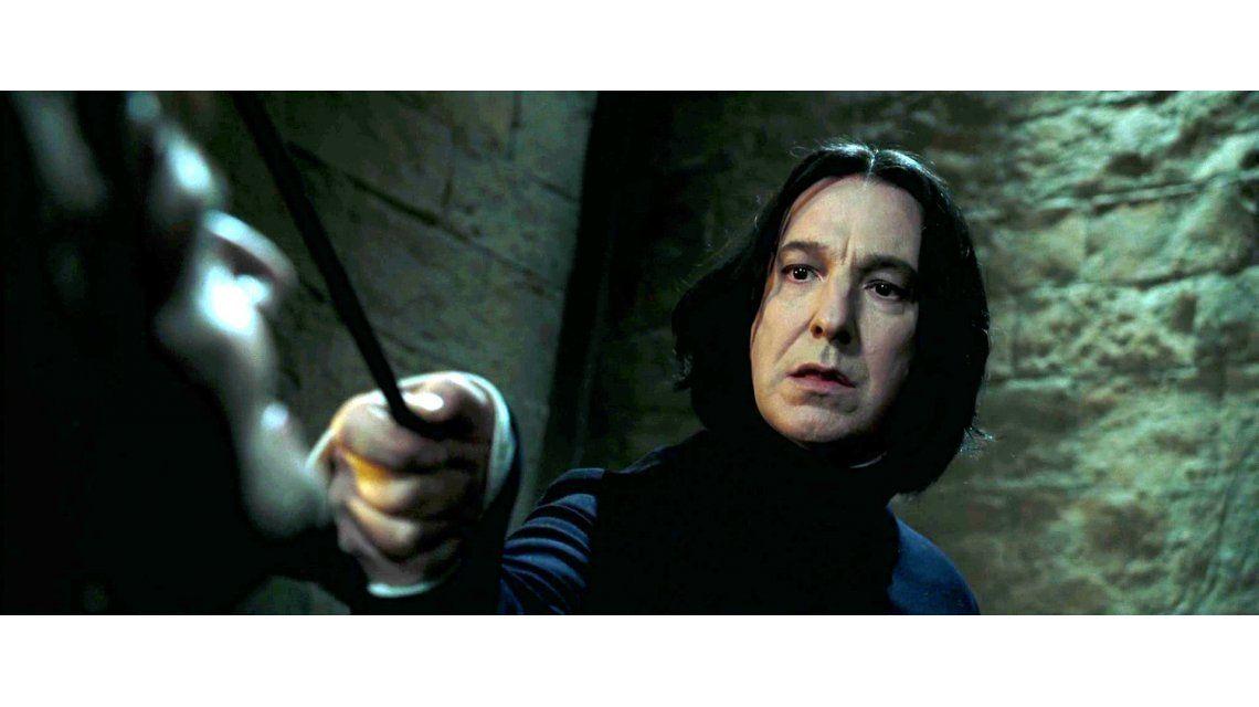 Murió Alan Rickman, el profesor Snape de Harry Potter