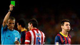 Revolución en el fútbol: debuta la tarjeta verde
