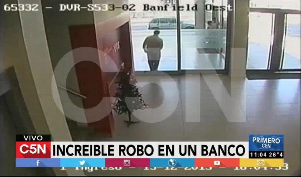Golpe comando a un banco en Banfield: se llevaron $200 mil en 90 segundos