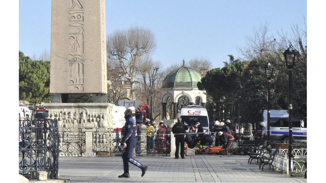 El atentado en Estambul en fotos