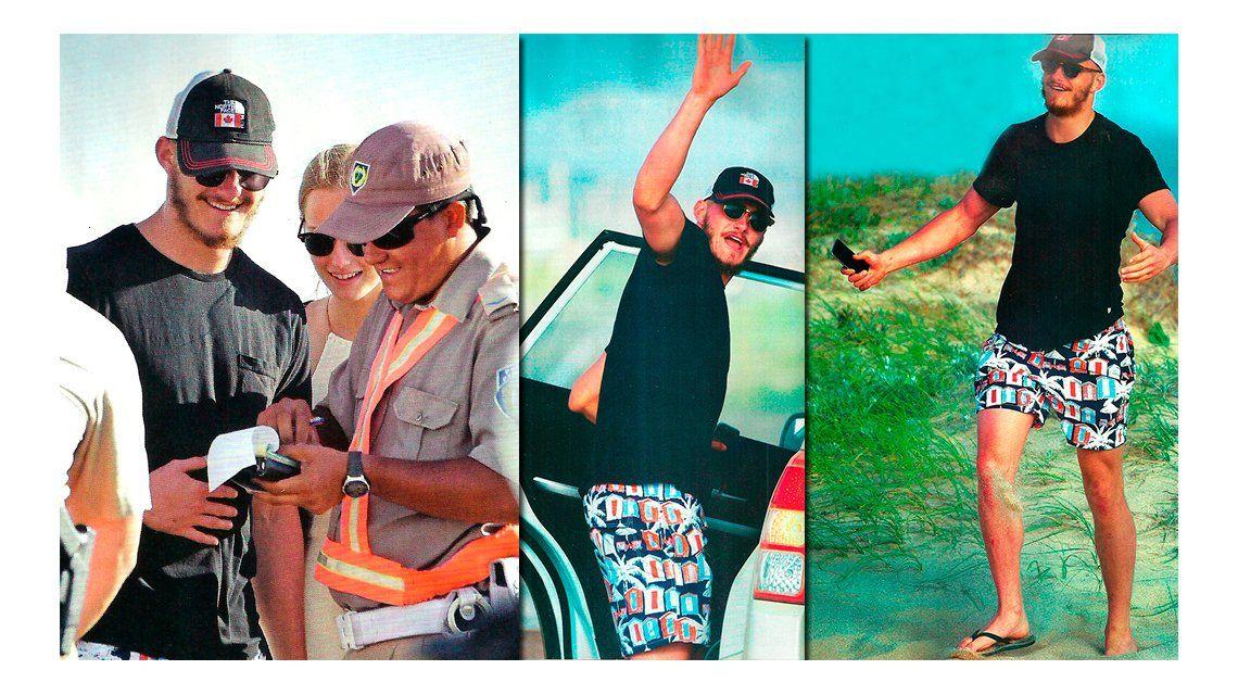 Las vacaciones del actor de Los Juegos del Hambre en Punta del Este