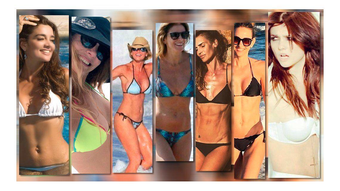 El verano de las sub 50: Araceli, Mazzocco, Palmiero y Ayos encienden las playas