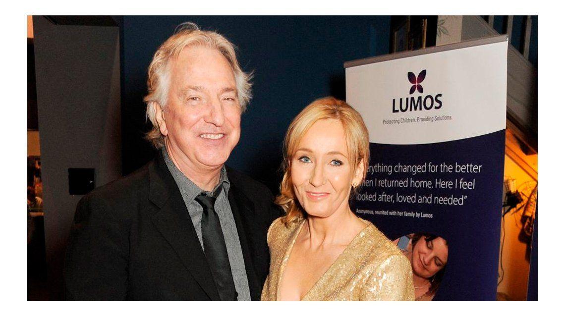 El mensaje de J.K. Rowling tras la muerte de Alan Rickman