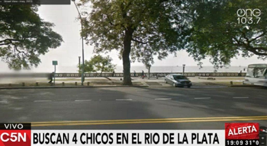 Un chico fue hallado muerto: buscan a otros tres en el Río de la Plata