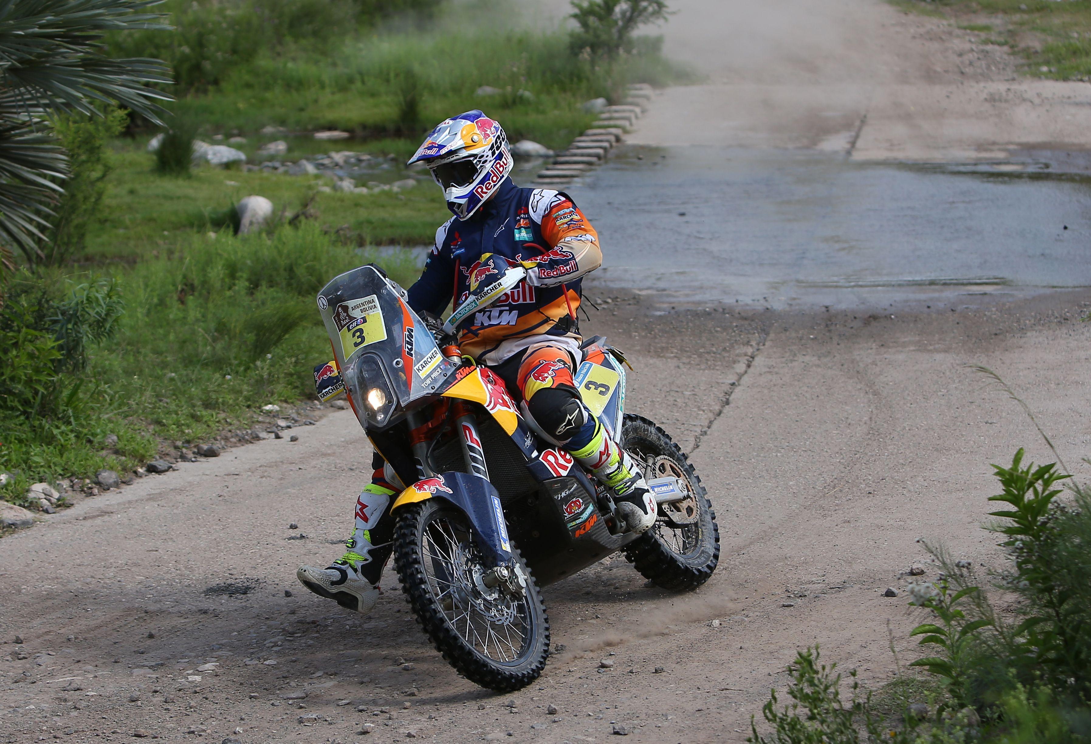 Rally Dakar: en motos ganó un australiano, pero Benavídes terminó cuarto