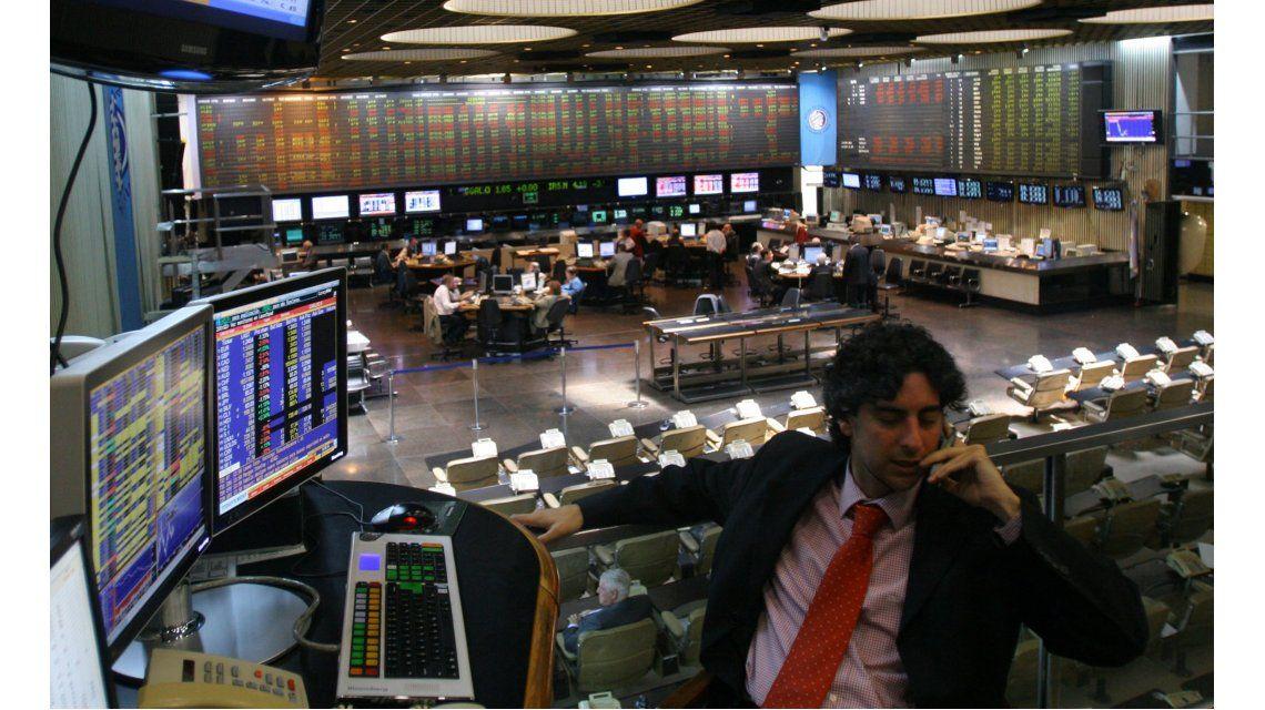 La Bolsa porteña arrancó la semana con una baja del 3,09%