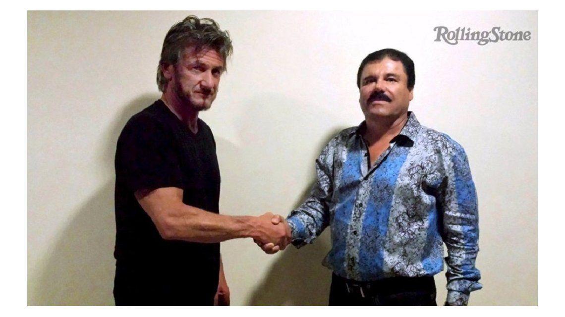 El gobierno mexicano quiere interrogar a Sean Penn por su encuentro con el Chapo Guzmán
