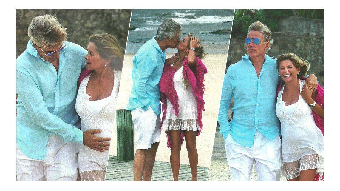 Ivana Figueiras atraviesa los seis meses de embarazo, relajada en la playa: Me cuido pero no pretendo sentirme una bomba