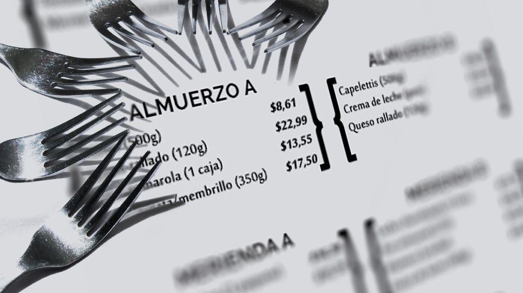 El desafío de comer sólo con Precios Cuidados: opciones de menúes