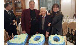 Así festeja su cumpleaños número 100 el capo de la Cosa Nostra italiana