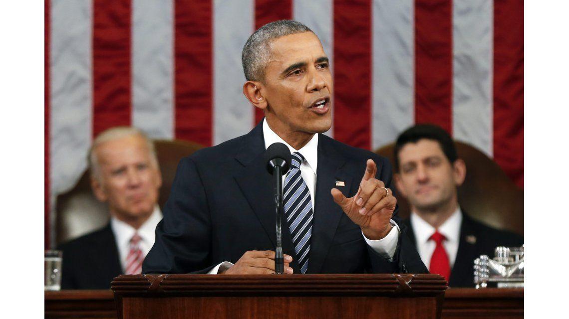 Obama: Estados Unidos es la más poderosa nación del mundo. Punto