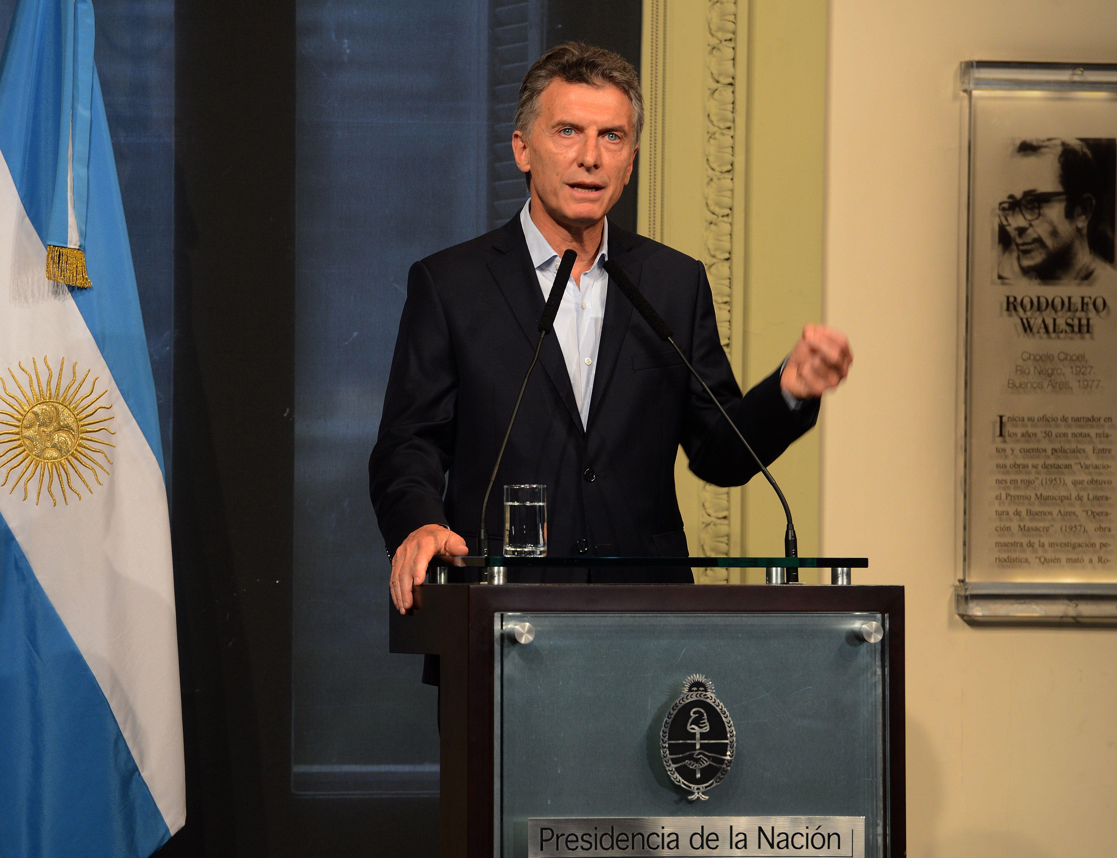 Macri: Quiero establecer un nuevo tipo de relación con Gran Bretaña
