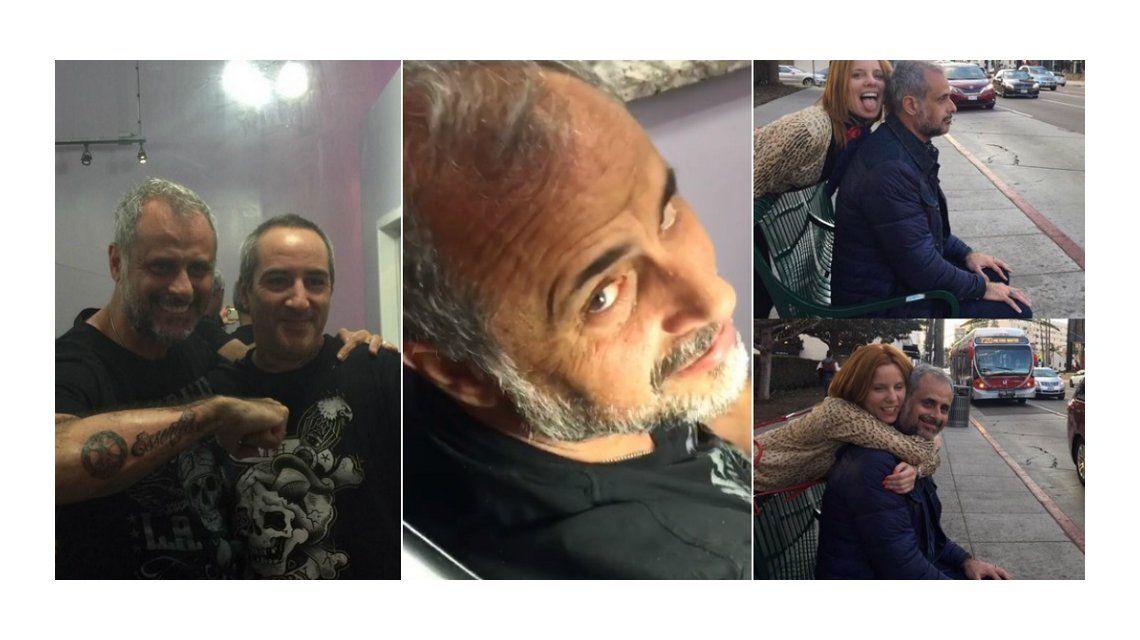 Jorge Rial se hizo un nuevo tatuaje: ¡Alguien que lo pare!, exclama Agustina Kämpfer