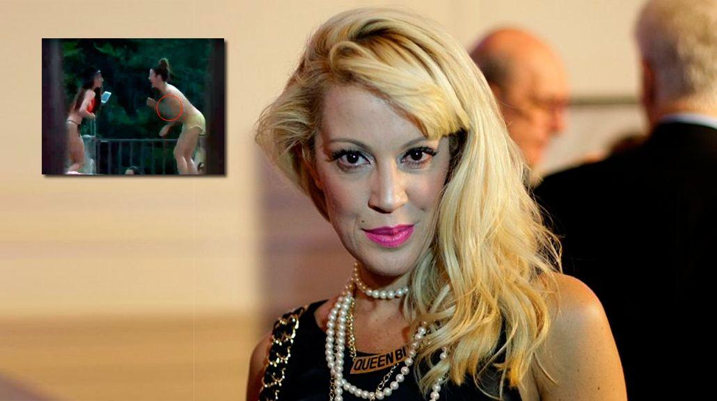 La mujer de Alejandro Fantino protagonizó el primer topless de la temporada