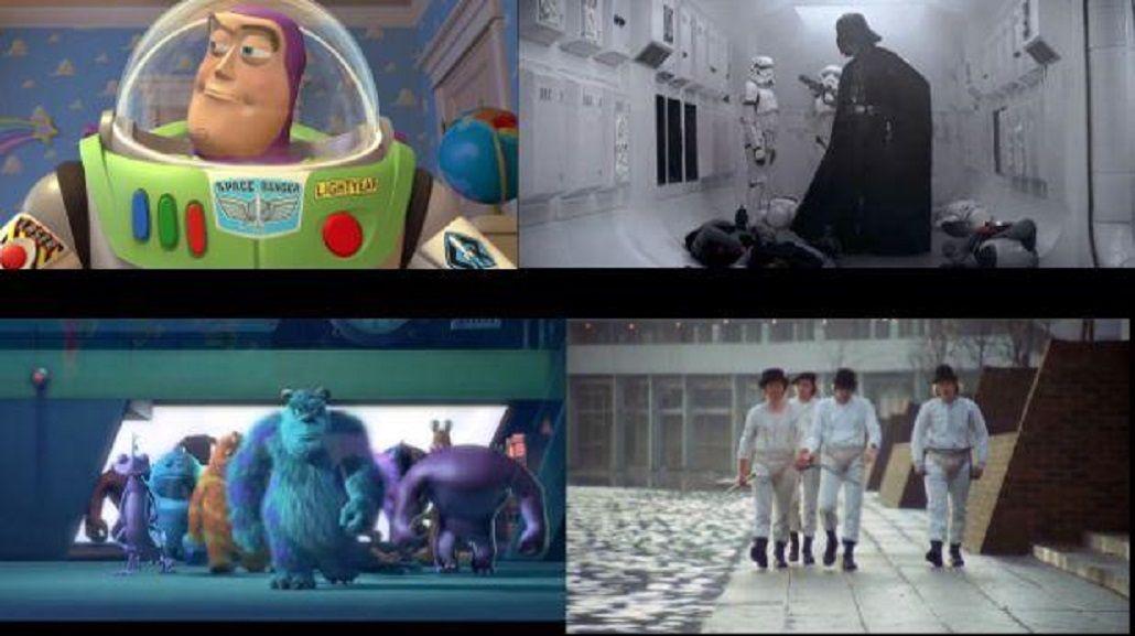 VIDEO: Los más de 50 tributos que Pixar hizo de clásicos del cine
