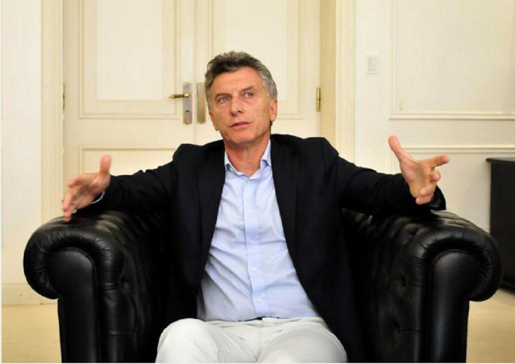 Por su lesión en la costilla, Macri limitó su agenda