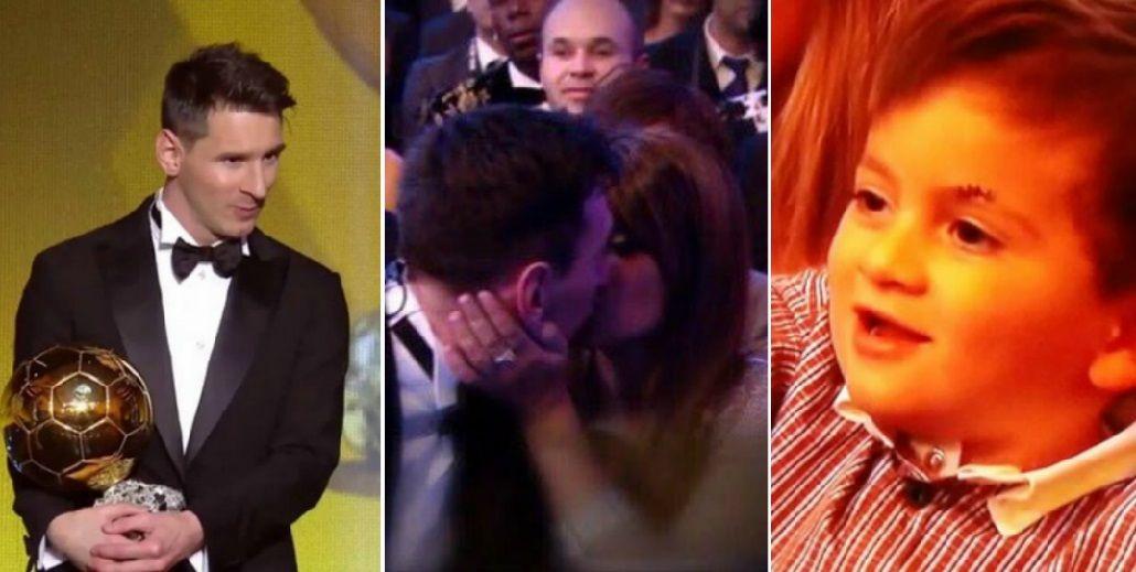 El romántico beso de Antonella Roccuzo y el tierno saludo de Thiago