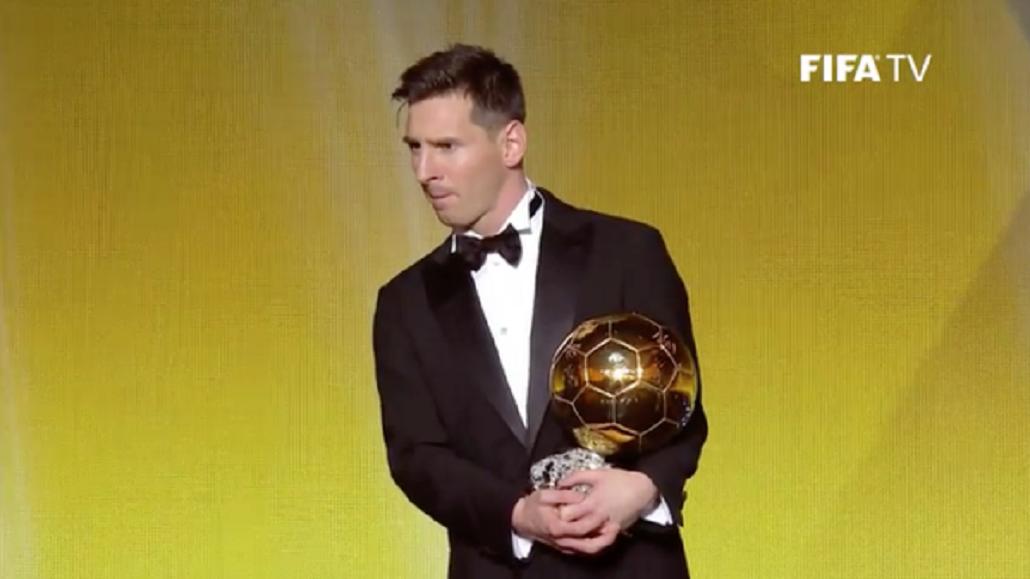 Lionel Messi volvió a ganarle a CR7 y consiguió su quinto Balón de Oro
