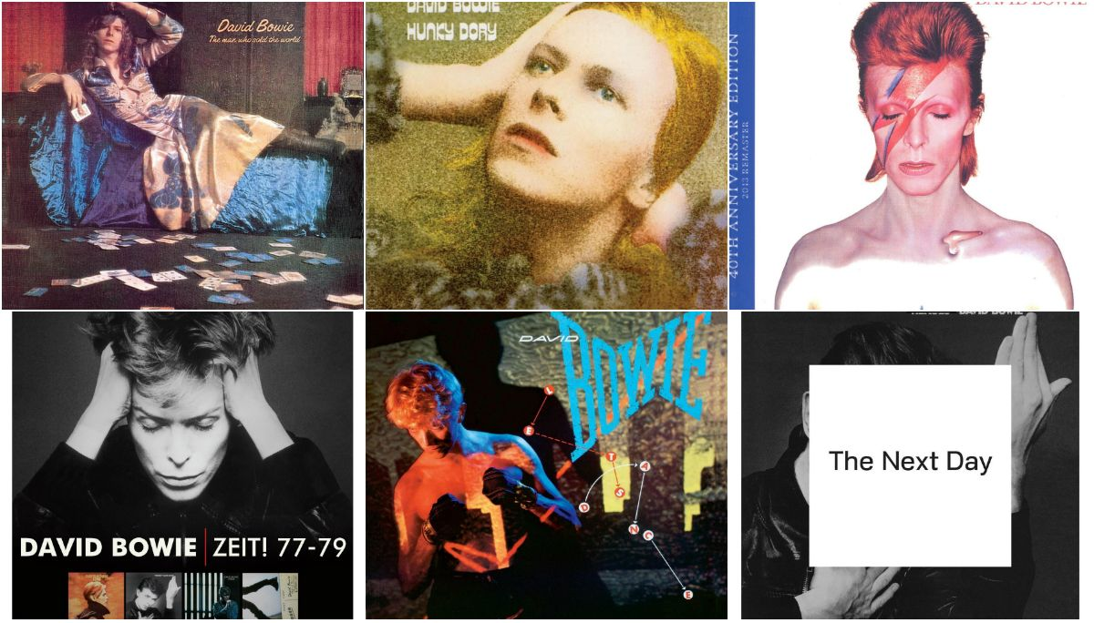 Diez discos fundamentales para conocer quién fue Bowie