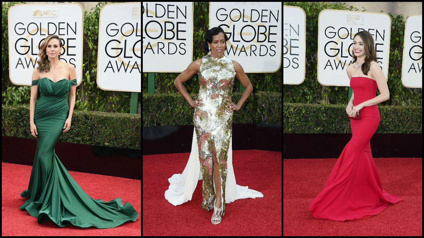 Los mejores y peores looks en la alfombra roja de los premios Globos de Oro
