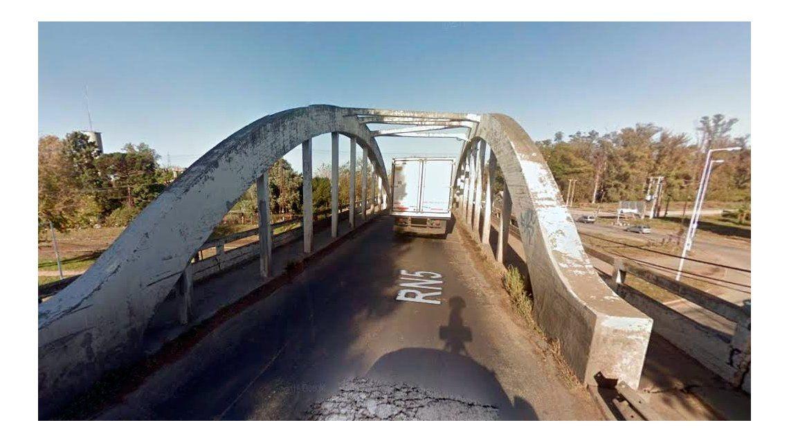 Este es el puente peligrosísimo del que se quejó Macri