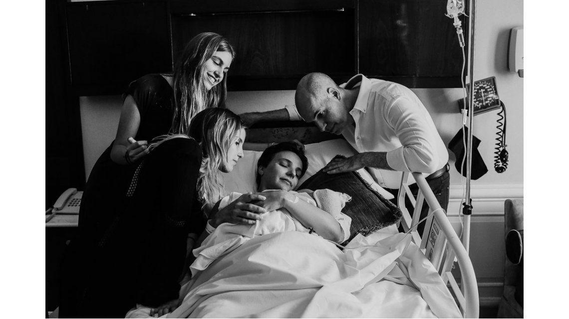 Larreta tras el nacimiento de su hija: Espero el primer partido de Racing con Serena a upa