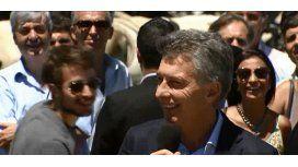Blooper de Macri con el micrófono caliente