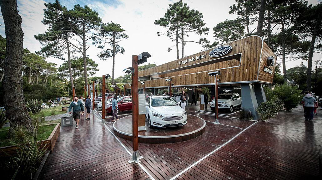 Ford presenta sus nuevos modelos en Pinamar y Cariló