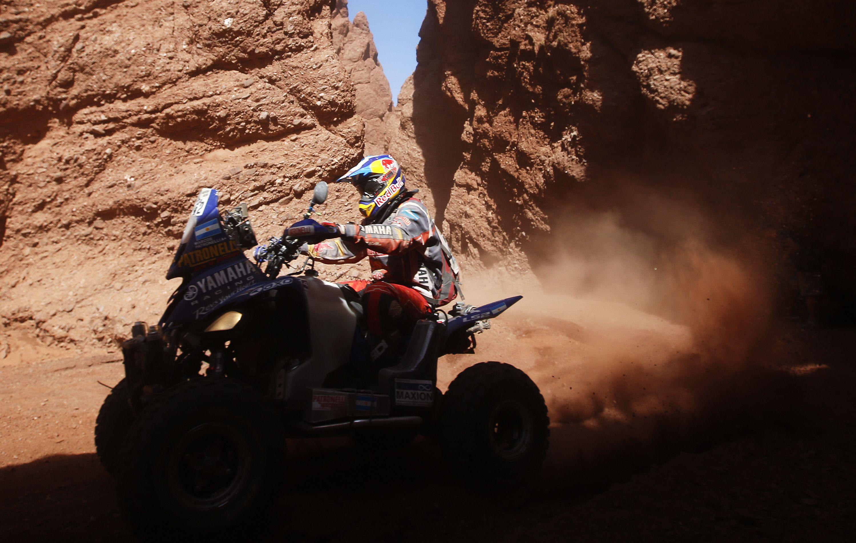 Los hermanos Patronelli siguen liderando el Dakar 2016 en cuatris