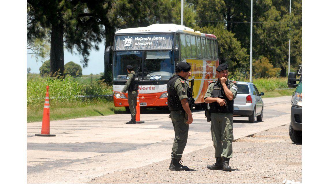 Triple Fuga: trasladaron al Churruca a uno de los gendarmes heridos