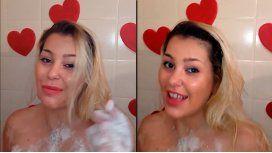 La ducha hot de Mariana Diarco