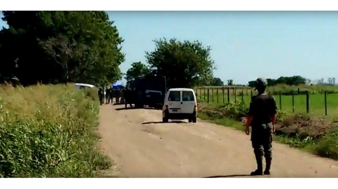 VIDEO: Así es el operativo de Gendarmería para dar con los prófugos