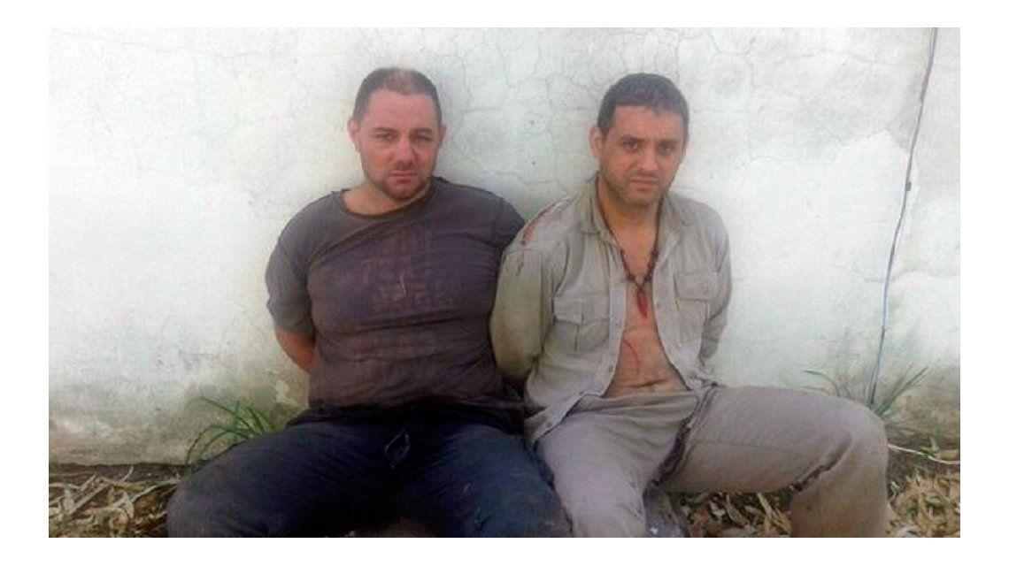 Así están Cristian Lanatta y Víctor Schillaci
