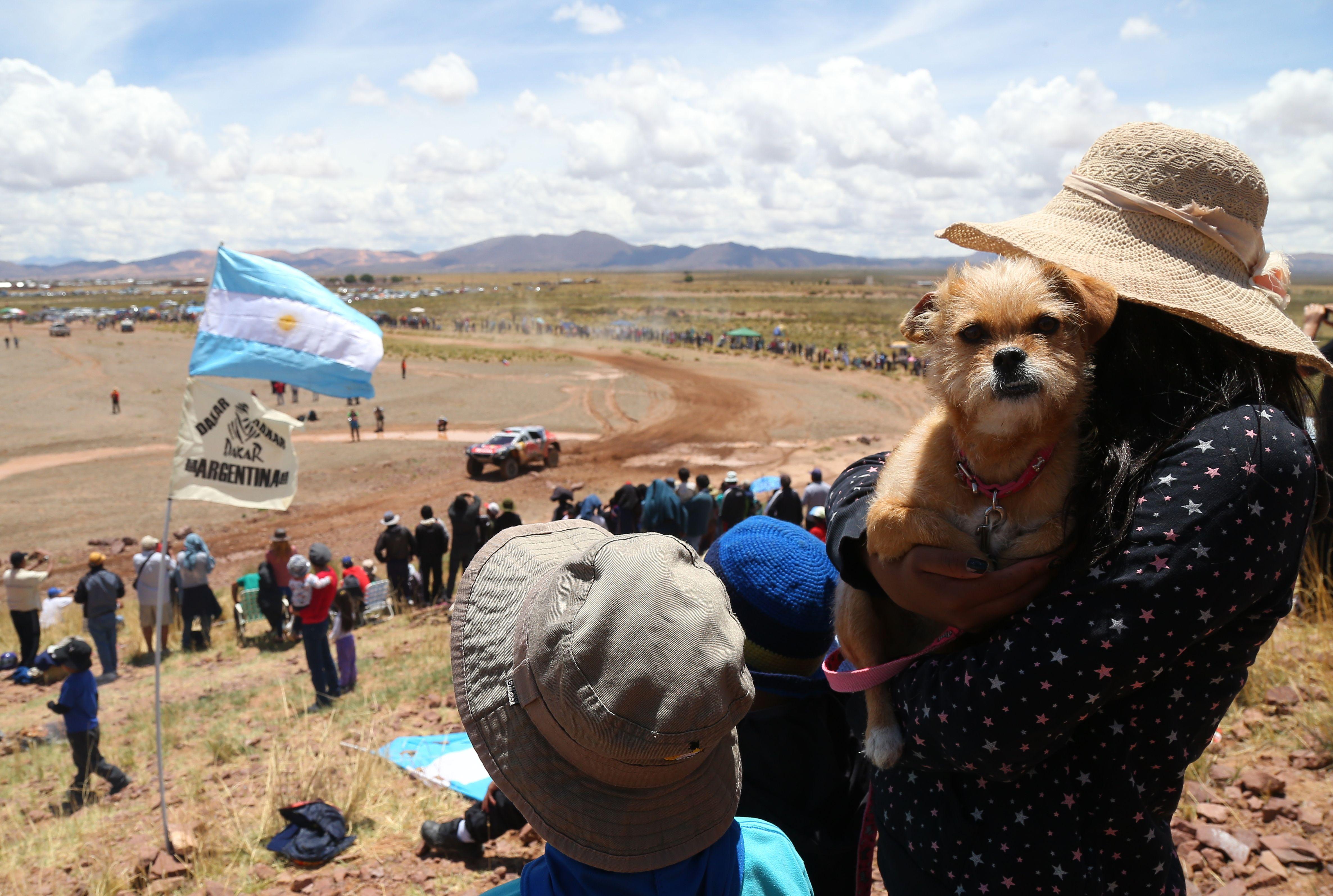Las fotos de la etapa 4 del Dakar
