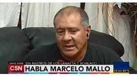 Marcelo Mallo habló en C5N: Es imposible fugarse sin ayuda