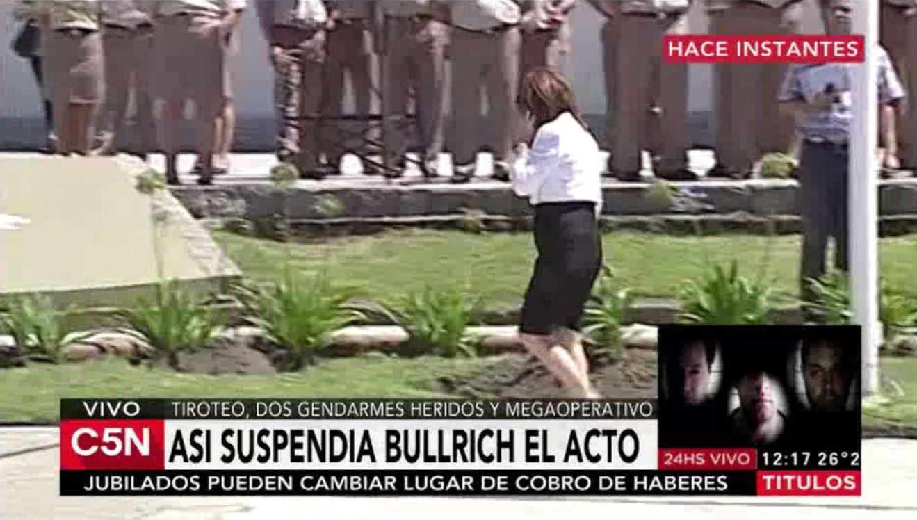 Bullrich suspendió un acto oficial y viaja a Santa Fe