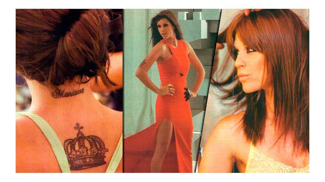 La ex de Mariano Martínez reveló qué hará con el tatuaje que tiene con el nombre del actor