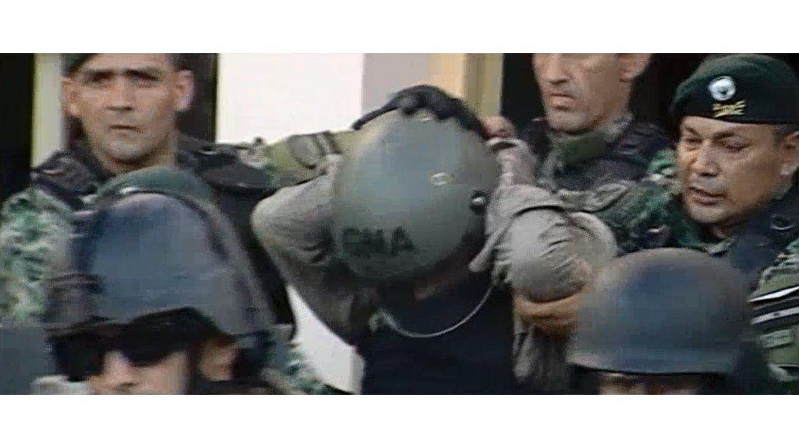 VIDEO: Así trasladaron a Martín Lanatta