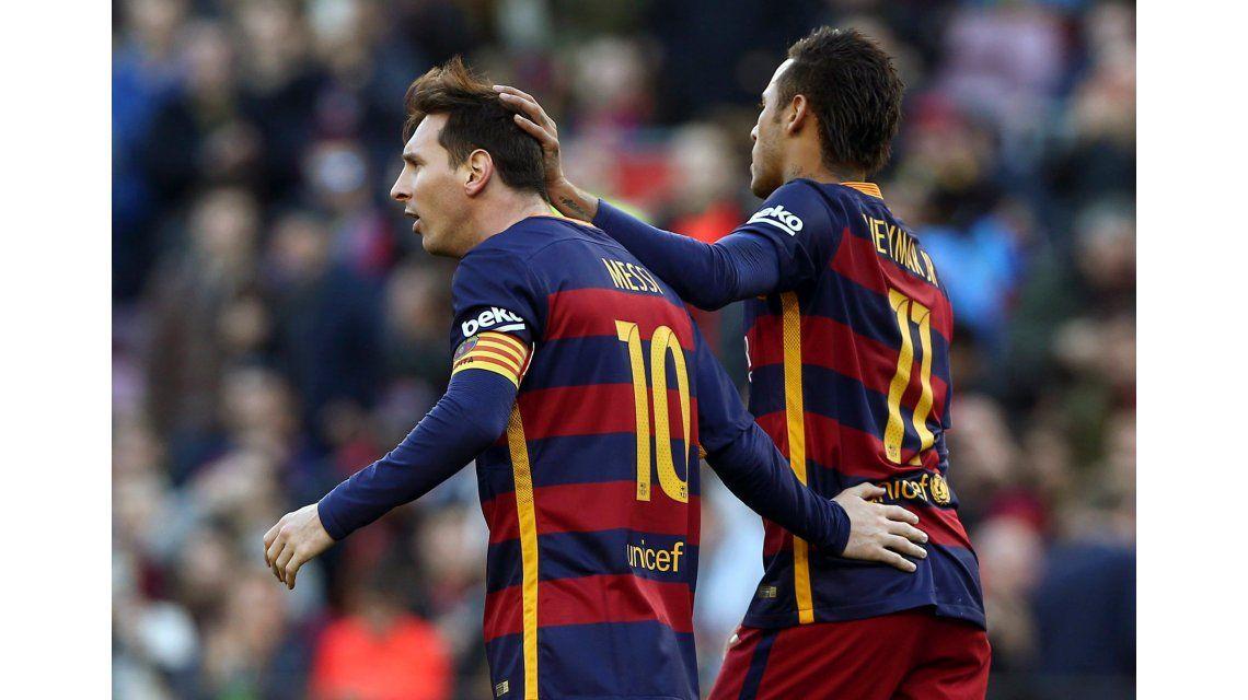 Las veces que Messi dejó ser protagonista a Neymar y el brasileño no lo aprovechó
