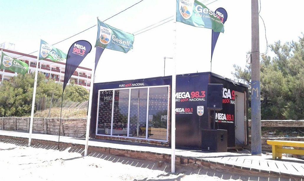 Mega llega a Gesell con un parador y shows en vivo: mirá la agenda
