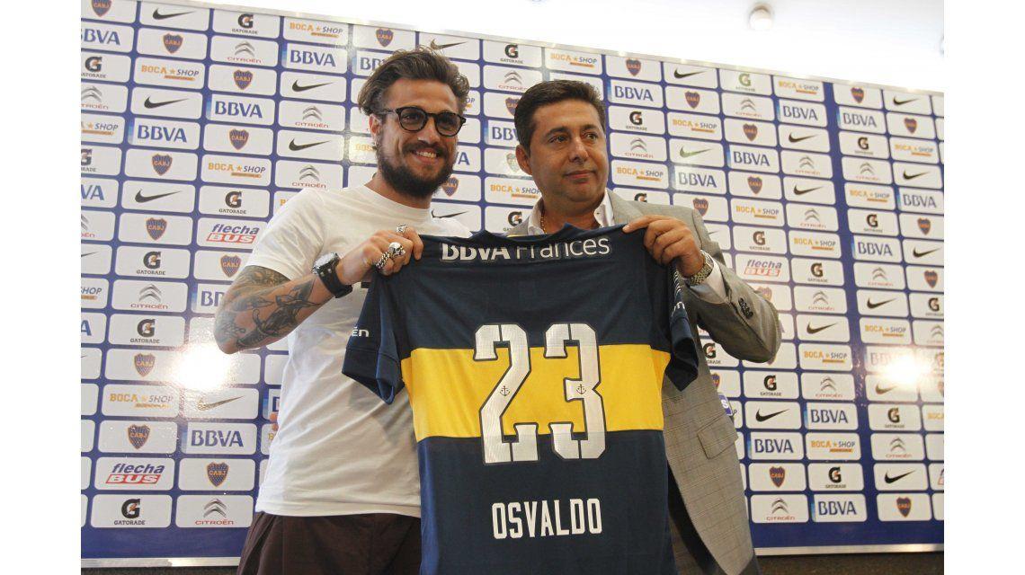 Angelici se refirió a la posible llegada de Daniel Osvaldo: ¿Qué dijo?
